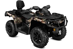 Outlander MAX XT 650 r. 2021 Country Camo
