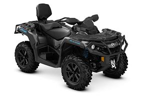 Outlander MAX XT 650 ABS r. 2021 Iron Gray & Octane Blue